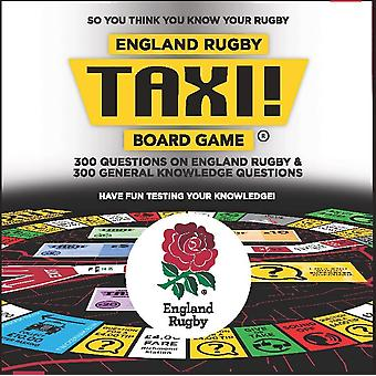 Taxi Board Game England Rugby by Taxi Game Ltd
