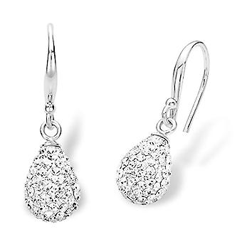 Amor Donna 925 White Silver Crystal FINEEARRING