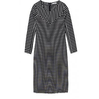 Sandwich Clothing Black & White Stripe Dress