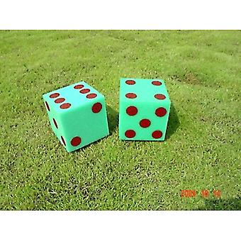 EVV-0011, Foam Dice w/ Dots - 5-quot;