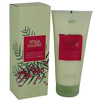 4711 acqua colonia roze peper & grapefruit body lotion door maurer & wirtz 540778 200 ml