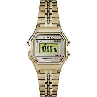 Timex klocka klockor Retro Digital TW2T48400 - Kvinnors klocka