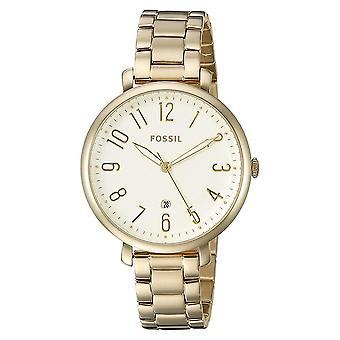 Fossil ES3971 Jacqueline Gold Tone Dial Steel Ladies Watch