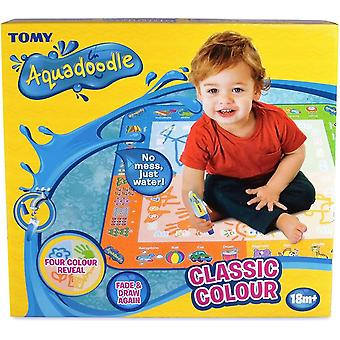 Tomy Kids Aquadoodle Classic Colouring Mat Children Water Drawing Creative Toy