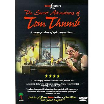 Secret Adventures of Tom Thumb [DVD] USA import