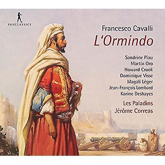 Cavalli / Les Paladins / Correas - L'Ormindo [CD] USA import