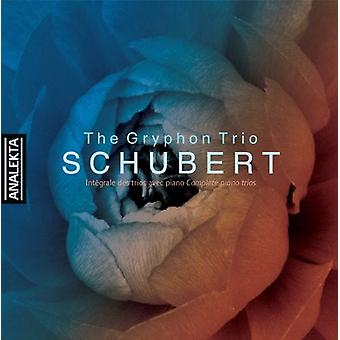 Gryphon Trio - Schubert: Complete Piano Trios [CD] USA import