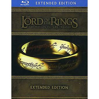 The Lord of the Rings: The Motion Picture Trilogy [Extended Edition] [15 Discs] [Blu-ray] [BLU-RAY] USA import