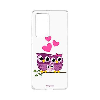 Hull For Huawei P40 Pro Soft Family Owl