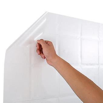 טפט עמיד למים שקוף עם דבק עצמי, קישוט ריהוט למטבח, שמן כיריים ומדבקות ארון עמיד למים