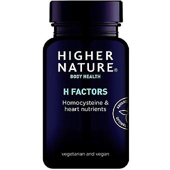 Higher Nature H Factors Vegetable Capsules 60 (HHH060)