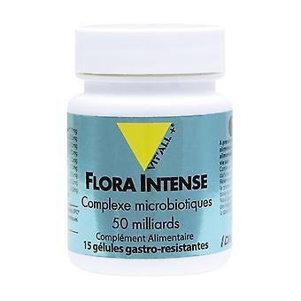 Flora intense 50 miljard 15 capsules