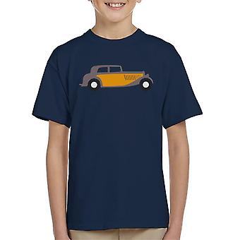 Citro�n Traction Classic Car Sketch Kid's T-Shirt