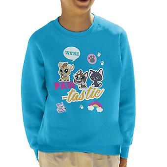 Littlest Pet Shop We're Paw Tastic Kid's Sweatshirt