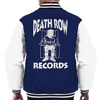 Death Row Records stoel Logo witte mannen Varsity Jacket