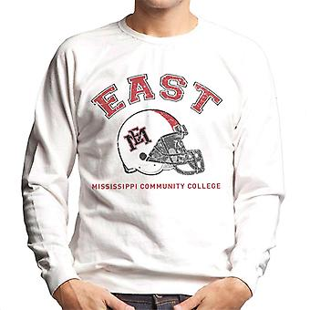 East Mississippi Community College Dark Helmet Men's Sweatshirt