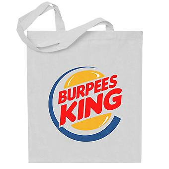 Burpees King Burger King Totebag