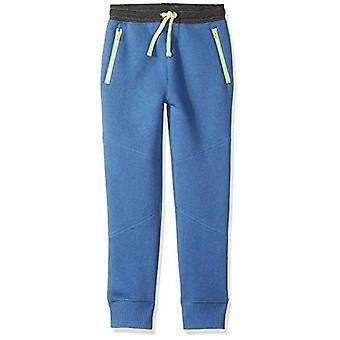 Brand - Spotted Zebra Big Boys' Zip Pocket Jogger Pants, Blue, Medium ...