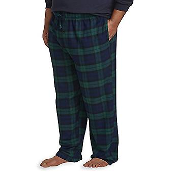 Essentials Men's Big & Tall Flannel Pijama Pant se potrivesc de DXL, Blackwatch ...