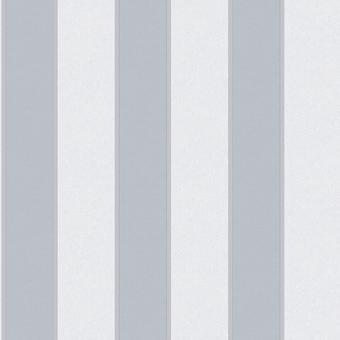 Sirpi By Muriva Regal Stripe Line Embossed Motif Pattern Vinyl Silver Wallpaper