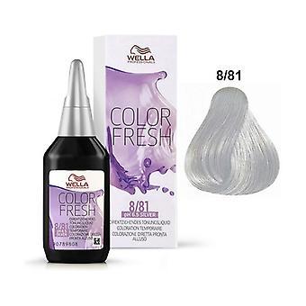 Kleur Vers 8/81 Semi Permanente haarkleur 75 ml