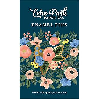Echo Park Fancy Flora Enamel Pin