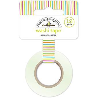 Doodlebug Design Springtime Stripe Washi Tape