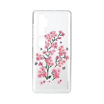 هال ل Xiaomi مي ملاحظة 10 زهور ساكورا لينة
