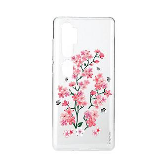 Coque Pour Xiaomi Mi Note 10 Souple Fleurs De Sakura
