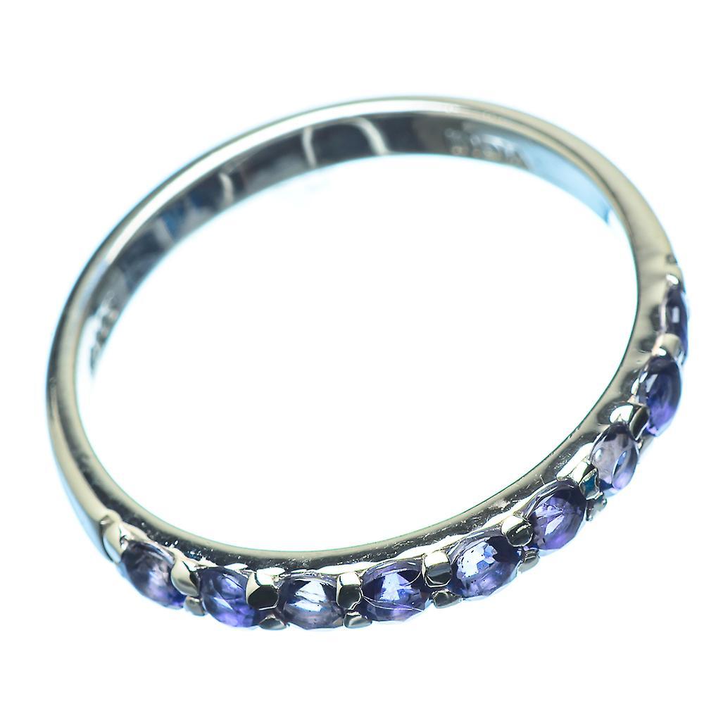 Guter Service Fantastisk pris Faceted Tanzanite Ring Size 11 (925 Sterling Silver)  - Handmade Boho Vintage Jewelry RING21296 B276z