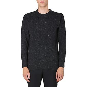 Barbour Mkn0844bk31 Homme-apos;s Pull en laine noire