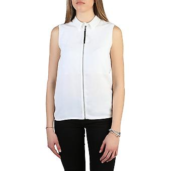 Armani jeans 6y5c03 women's polyester sleeveless shirt