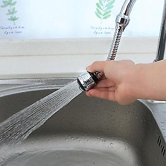 Rotatable Bubbler Water Saving High-pressure Nozzle Filter Tap Adapter Faucet