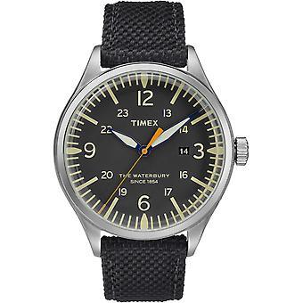 TW2R38500, Waterbury Timex Style Mens Watch / Noir