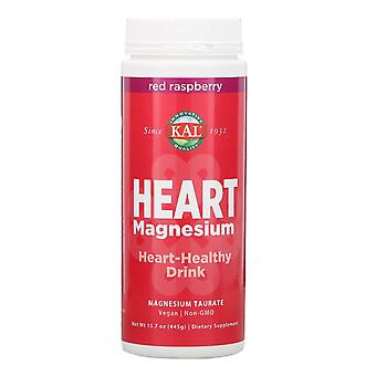 KAL, Heart Magnesium, Heart-Healthy Drink, Red Raspberry, 15.7 oz (445 g)
