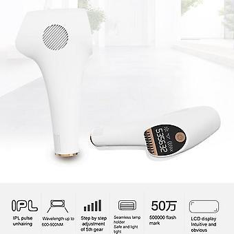 Frisørsalon, hårfjerningsenhed med LCD-skærm svag pulserende lyslampeholder