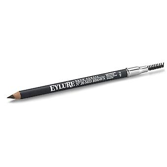 Eylure Brow Pencil - Mid Brown - Ideal for Precise Brow Shading & Shaping