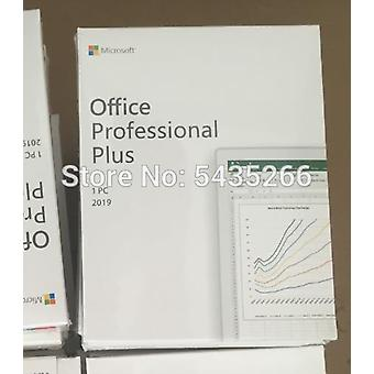 Microsoft Office Home Business / Pro Plus Windows 10 Key Card Global Professional License