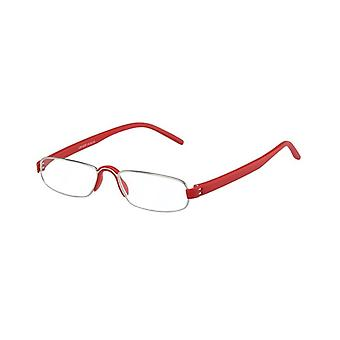 Reading glasses Unisex Le-0163F notary red thickness +3.00