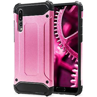 Shell for Huawei P20 Pro Pink Armor Protection Case Hard