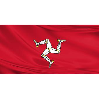 Multipack 3 x Isle of Man Large Flag 5ft x 3ft