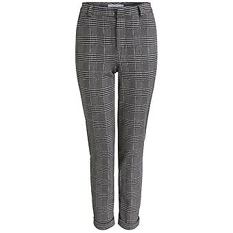 Oui Check Trousers