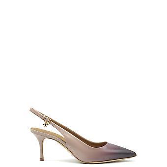 Tory Burch Ezbc074012 Dames's Beige Leather Sandals