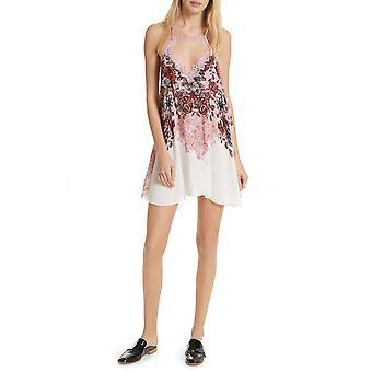 Oameni liberi | Floral Haze imprimate Slip Pe Mini Dress