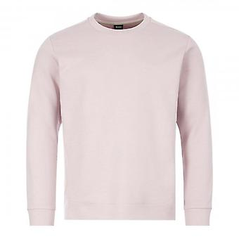 Boss Green Hugo Boss Salbo X Crew Neck Sweatshirt Light Pink 50410319