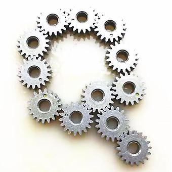 10kpl moottorivaihde metallivaihteet - Mini Pinion 18t Hampaat Metallivaihde Rc-malliin