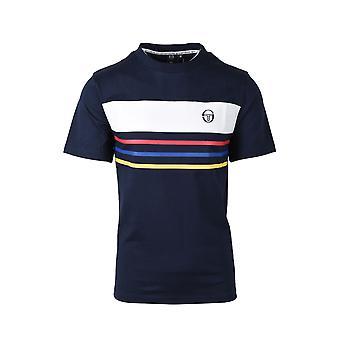 Sergio Tacchini Maire T Shirt Marine
