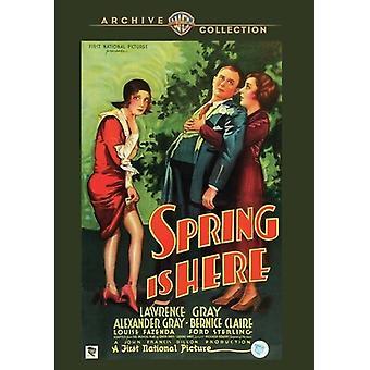 Våren er her (1930) [DVD] USA import