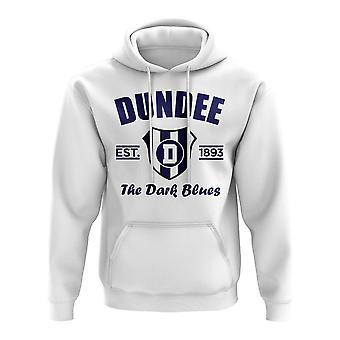 Dundee Established Football Hoody (White)