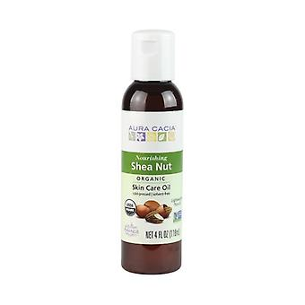 Aura Cacia Organic Shea Nut Body Oil, 4Oz